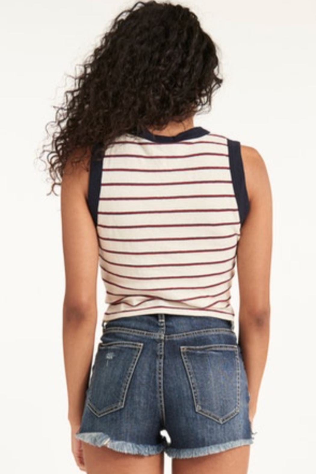 LaMade  Poolside Crop Top - Front Full Image