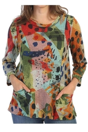 Jess & Jane Pop Art French Brush Tunic - Product Mini Image