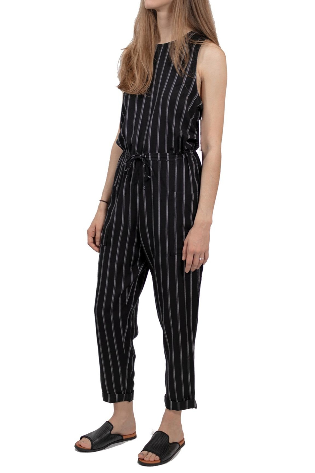 RVCA Pop Out Jumpsuit - Front Full Image