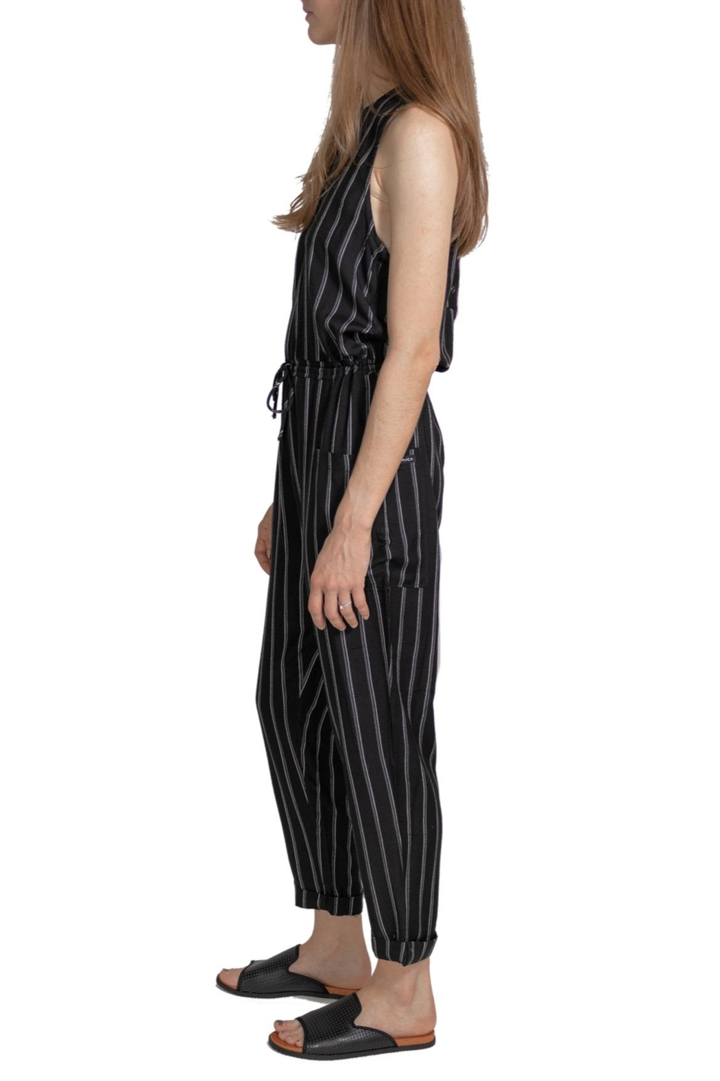 RVCA Pop Out Jumpsuit - Side Cropped Image