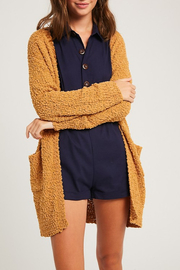 Listicle Popcorn Cardigan - Product Mini Image
