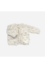 The Blueberry Hill Popcorn Cardigan - Front cropped