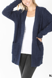 Lyn -Maree's Popcorn Cardigan - Front cropped