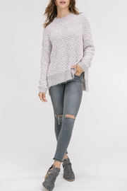 Listicle Popcorn Fuzzy Pullover - Product Mini Image