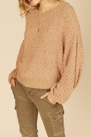 Vintage Havana Popcorn Knit Sweater - Product Mini Image