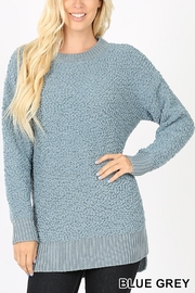Lyn -Maree's Popcorn Sweater - Front cropped