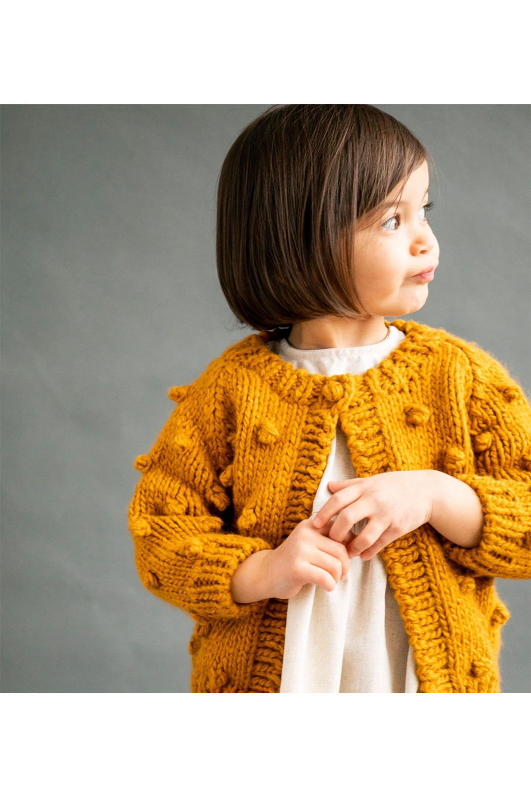 The Blueberry Hill Popcorn Sweater - Main Image