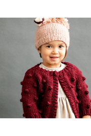 The Blueberry Hill Popcorn Sweater - Front cropped