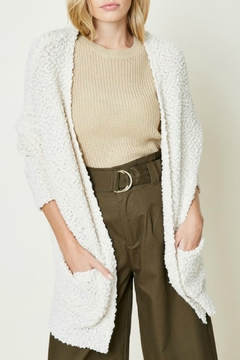 Hayden Popcorn Sweater Cardigan - Product List Image