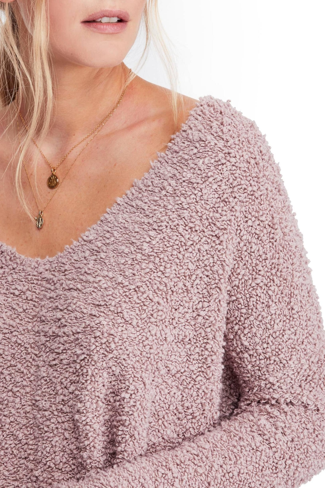 Free People Popcorn Sweater - Front Full Image