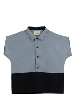 Shoptiques Product: Popelin Boys Shirt With Collar