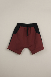 Popelin Boys Two -Tone Bermuda Shorts - Front full body