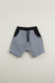 Popelin Boys Two -Tone Bermuda Shorts - Front cropped