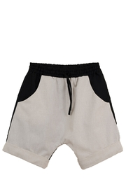 Popelin Boys Two Tone Bermuda Shorts - Front cropped