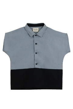 Shoptiques Product: Popelin Boys Two Tone Shirt