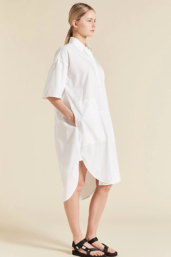 Lee Mathews POPLIN SHIRT DRESS - Alternate List Image
