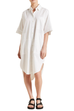 Lee Mathews POPLIN SHIRT DRESS - Product List Image