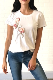 Noble  Popout Rose Tee - Product Mini Image