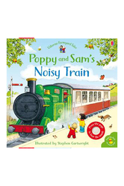 Usborne Poppu & Sam's Noisy Train Book - Product Mini Image