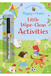 Usborne Poppy And Sam's Little Wipe-Clean Activities - Product Mini Image