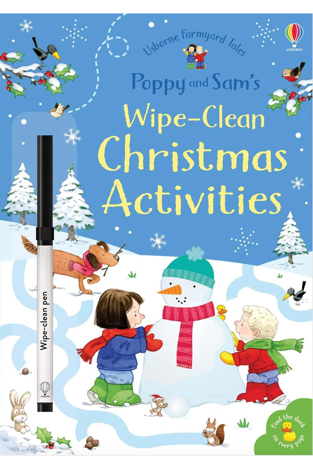 Usborne Poppy and Sam's Little Wipe-Clean Christmas Activities - Main Image