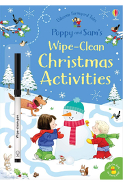 Usborne Poppy and Sam's Little Wipe-Clean Christmas Activities - Product Mini Image