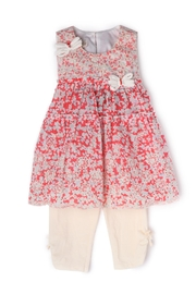 Isobella and Chloe Poppy Fields 2-Pc-Set - Front cropped