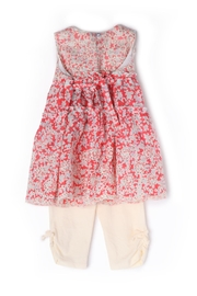 Isobella and Chloe Poppy Fields 2-Pc-Set - Front full body