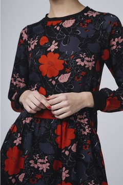 Compania Fantastica Poppy Floral Dress - Product List Image