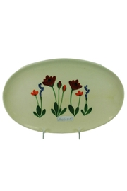 Emerson Creek Pottery Poppy Floral Platter - Product Mini Image