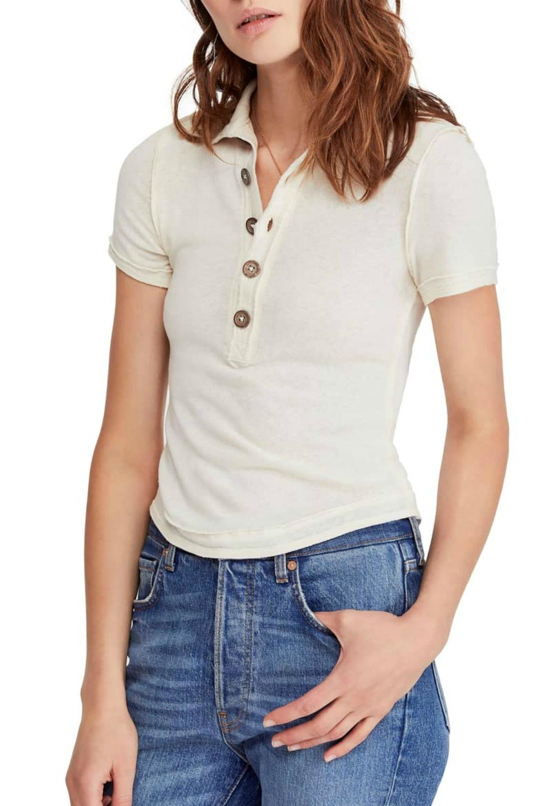 ab17a2ef933 Free People Poppy Polo from Orange County by Jeanni Champagne ...