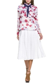 Endless Rose Poppy Ruffle Blouse - Product Mini Image