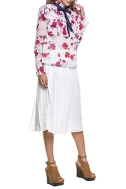 Endless Rose Poppy Ruffle Blouse - Side cropped