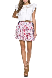 Endless Rose Poppy Ruffle Skirt - Product Mini Image
