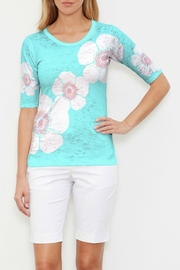 Whimsy Rose Poppy Seaglass Elbow Slv T - Product Mini Image