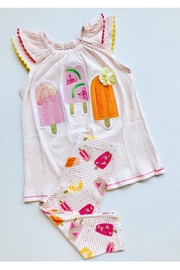 Mud Pie Popsicle Two-Piece Set - Front cropped