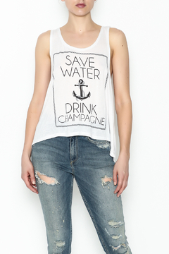 Popular Basics Drink Champagne Tank Top - Product List Image