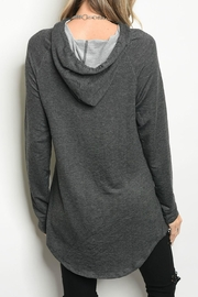 Popular Charcoal Sweater - Front full body