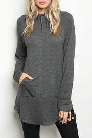 Popular Charcoal Sweater - Front cropped