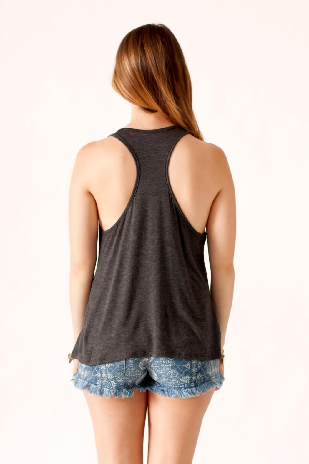 Popular Basics Good Times Tank - Back Cropped Image