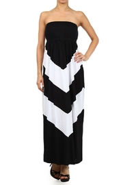 Popular Basics Tube Top Maxi - Front cropped
