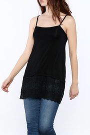 PopularJoy Black Long Camisole - Product Mini Image