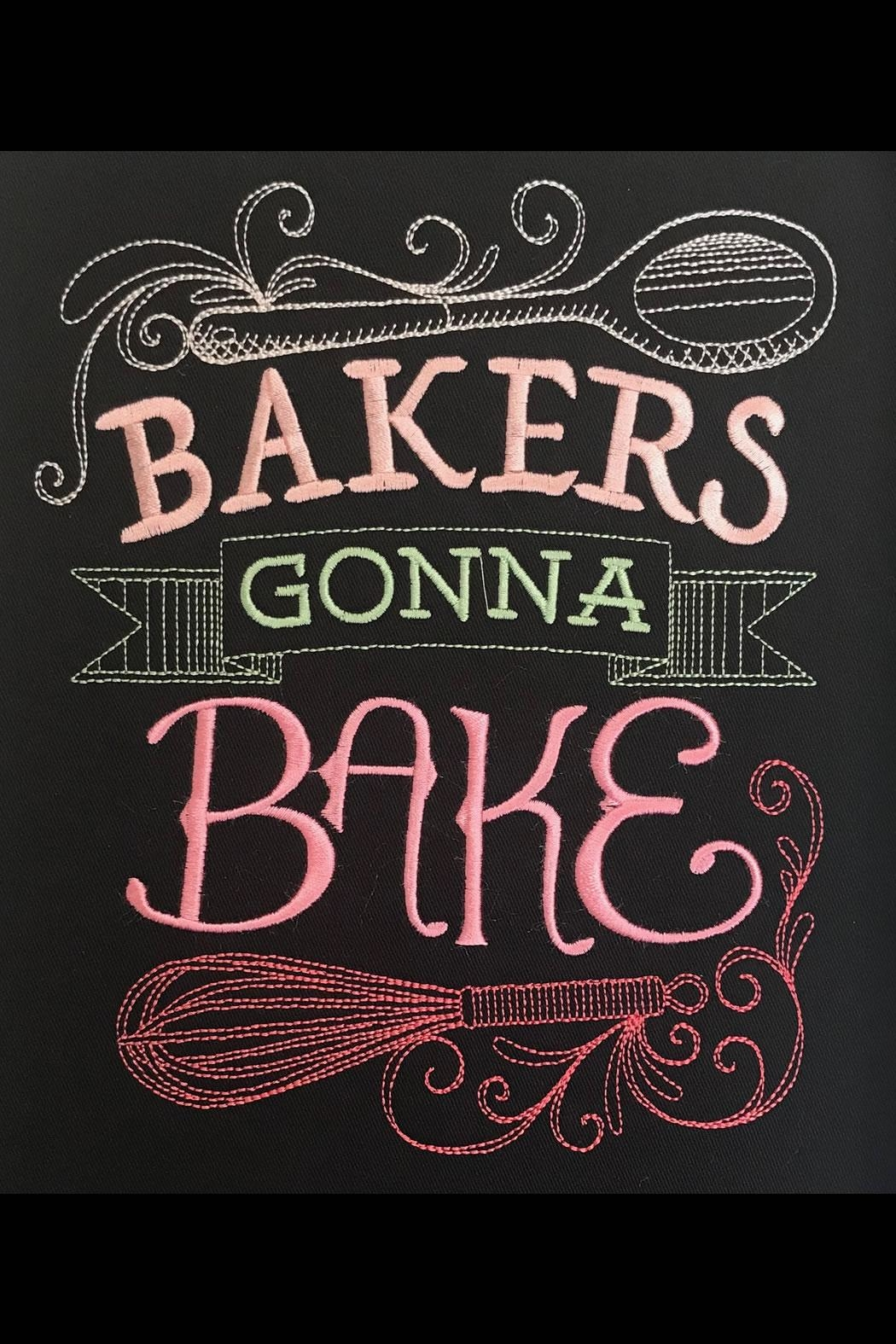 Port Authority Embroidered Bakers Apron - Front Full Image