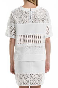 Portay Lace Grid Blouse - Alternate List Image
