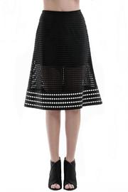 Shoptiques Product: Woven Leather Skirt