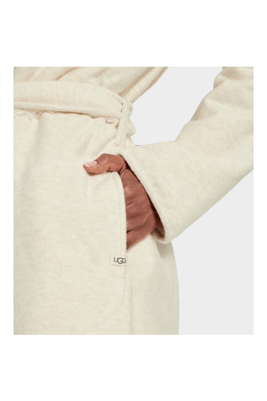 Ugg Portola Reversible Robe - Back Cropped Image