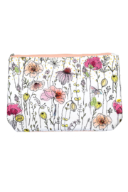 Michel Design Works Posies Large Cosmetic Bag - Product Mini Image