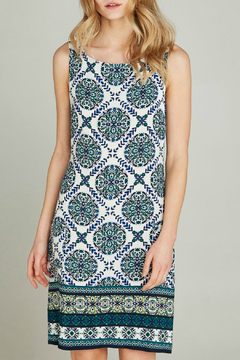 Apricot Positano Tole Print Shift Dress - Product List Image