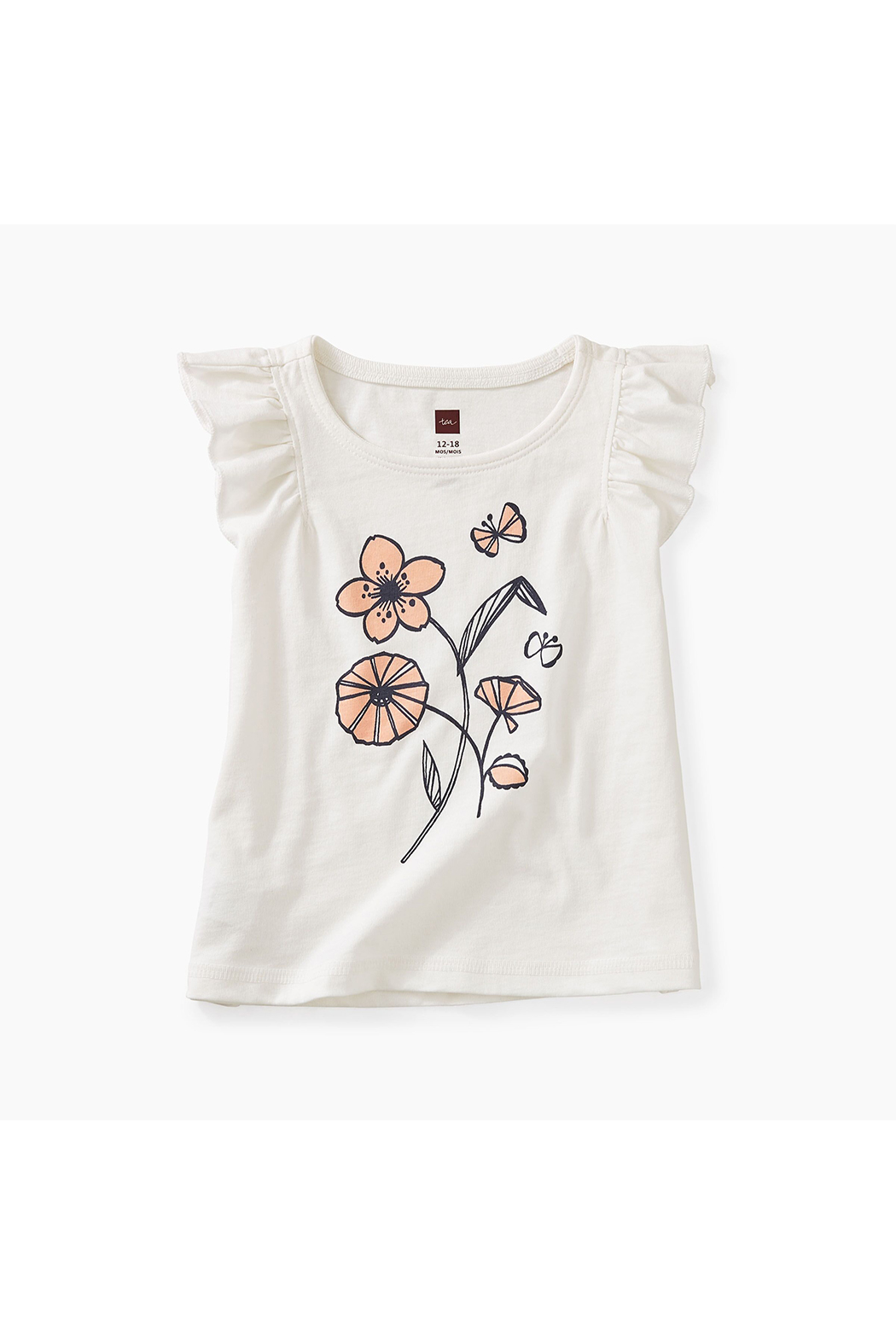 Tea Collection Posy Baby Graphic Tee - Main Image