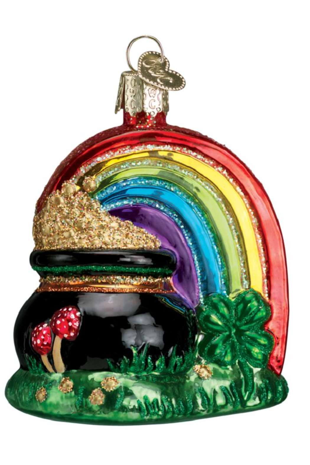 Old World Christmas Pot Of Gold - Front Full Image